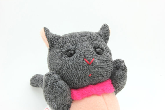 Little Kitty, Sock Plush, Soft Plush
